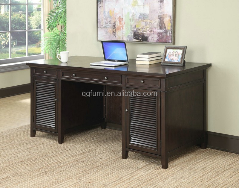 Executive luxury home office firniture, office furniture front desk of new design