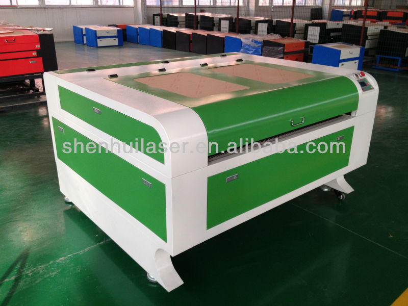 shenhui laser cutting machine with front and back door for long materilas pass