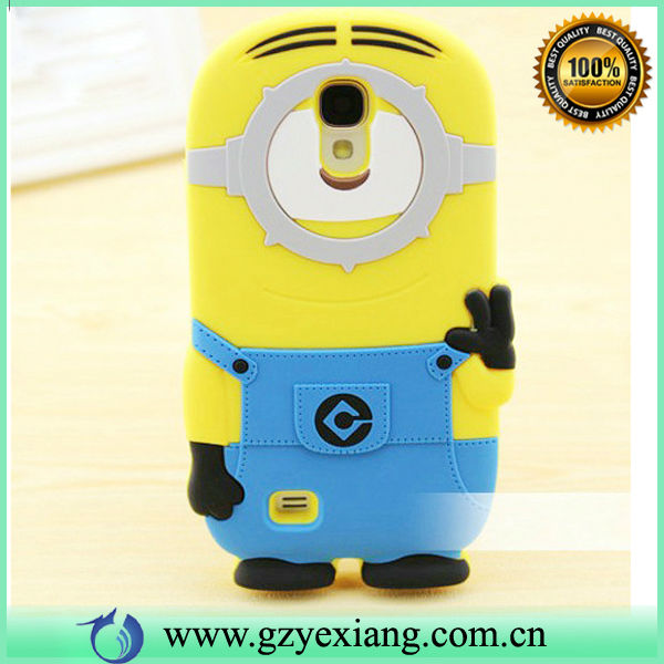 Best-Seller Silicon 3d Despicable Me Case Cover For Samsung Note 2 N7100