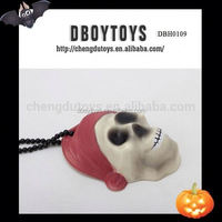 Funny decoration halloween necklace with light EN-71/6P