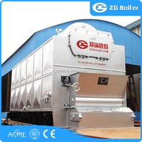 Textile, Paper, Food, Industry Used coconut shell fired boilers