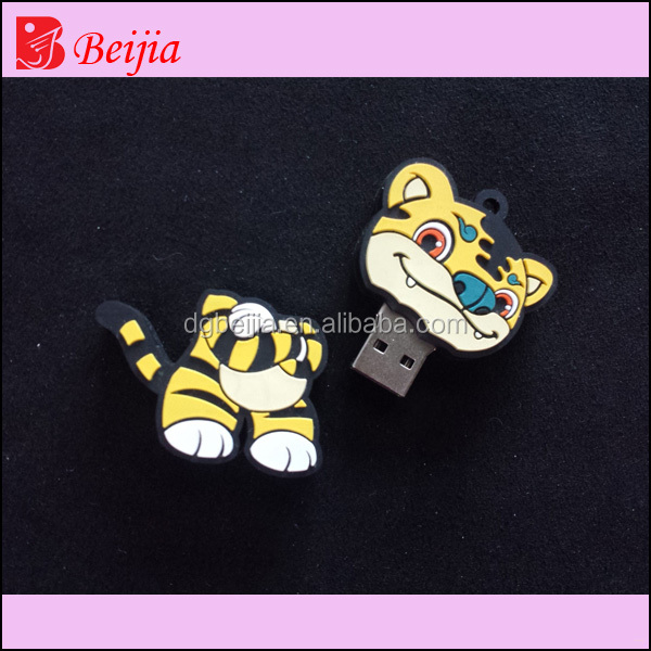 Customed foods grade usb novelty shape PVC / Silicon / Rubber USB Flash Drive