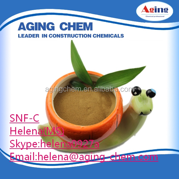 sodium naphthalene sulphonate(Na2SO4 18%)/SNF low price
