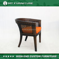 Classic Rattan Dining Chair French Bistro Chairs