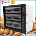 Professional 3 layer 9 Trays 380V Voltage Pizza electric cake 2 in 1 toaster oven