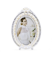 Exquisite oval crown shape wedding beautiful pendulum photo frame 2017 manufacturers top sales