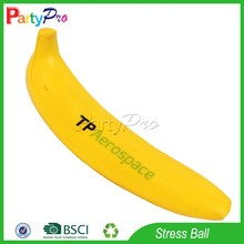 Partypro New Products 2015 Alibaba China Wholesale Banana Anti Stress Reliever Ball
