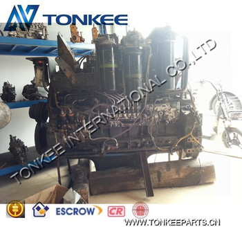 PC450-7 Excavator complete engine Used/Original PC450-7 Complete engine assy