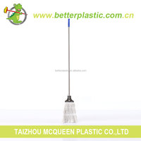 Manufacturer wholesale long handle good quality cotton floor cleaning mop