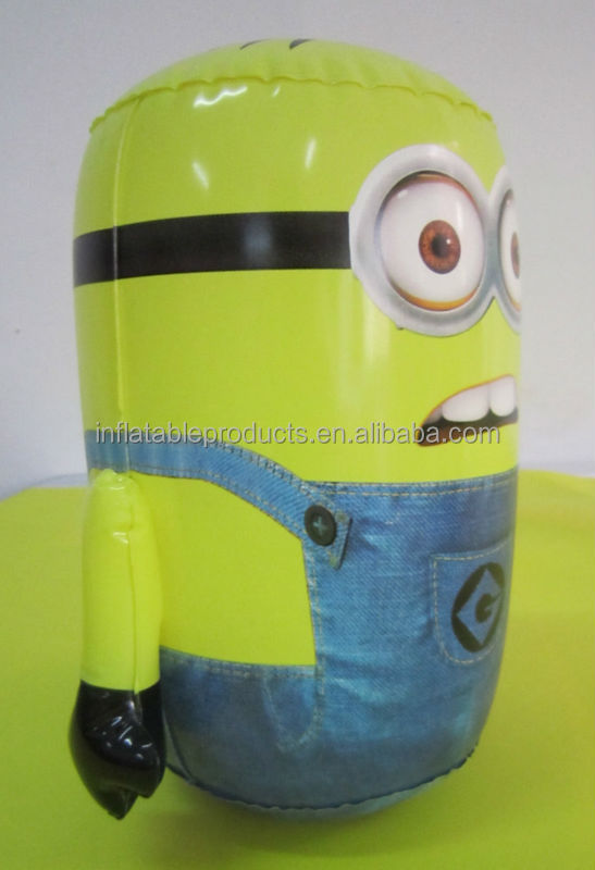 NEW INFLATABLE WOBBLY MINION BOPPER BOP PUNCH BAG FUN TOY DESPICABLE ME DAVE