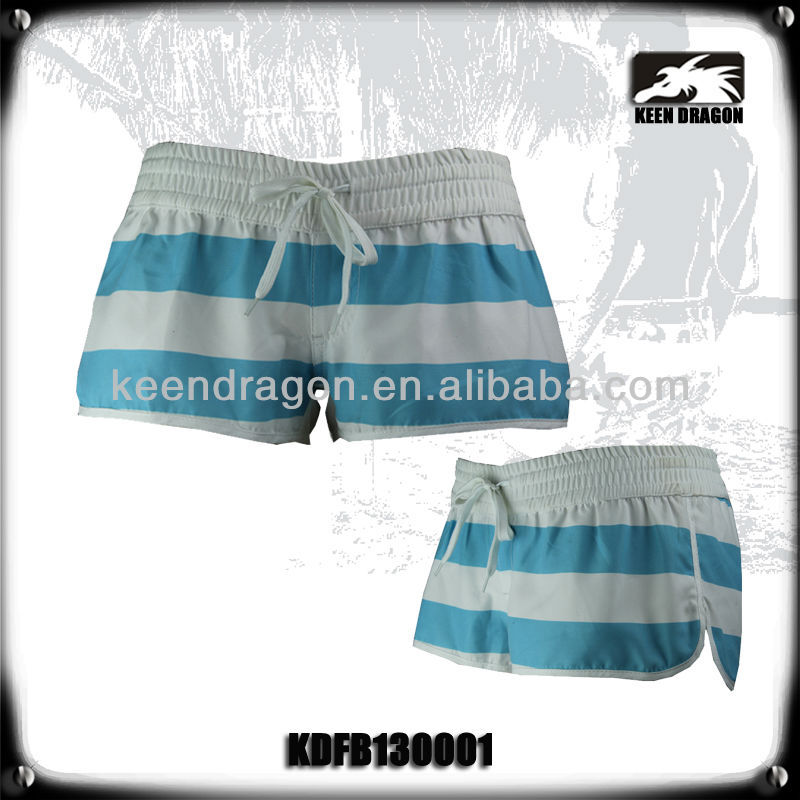 ladies sexy candy striped beach shorts fashion women short pants