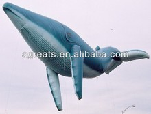 High quality large whale helium balloon can be custom made S3024