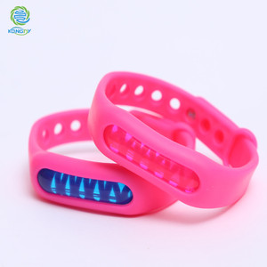 Low Price multi-color anti mosquito repellent silicon coil band from kongdy factory