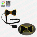 Light Up Bow Tie LED light requires one AAA battery to power.