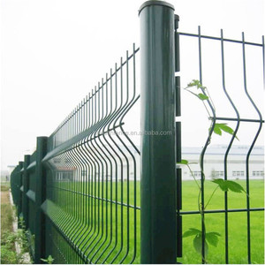 RAL6005 PVC coated nylofor 3d wire mesh fencing / 3d nylofor 2d &amp / welded nylofor 3d wire mesh fencing
