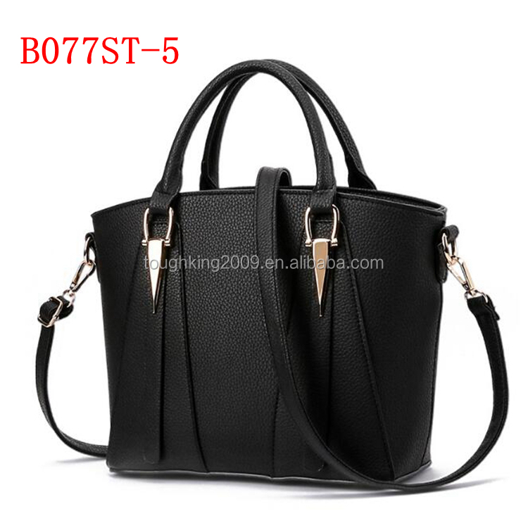 Two Functional Way Use Ladies PU Leather Bags Tote <strong>Handbag</strong> For Women