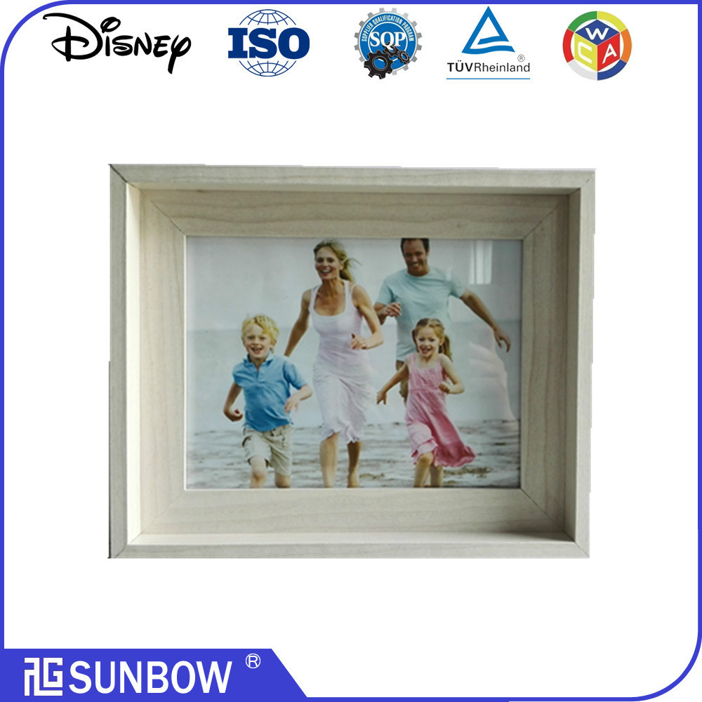 popular general 3d shadow box wall art box frame picture wall handing wood frame