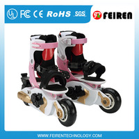 2016 Girl's electric remote control roller skate motor shoes scooter