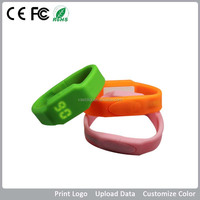 silicone usb bracelet watch, bracelet silicone usb, Special gifts usb flash drive watch