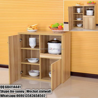 Cheap wooden kitchen cupboard