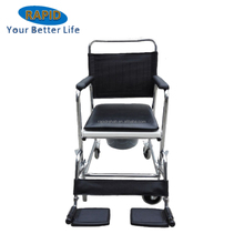Commode Chair with wheels for Disabled people