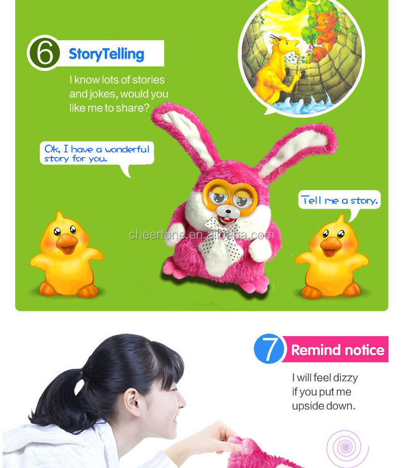 new design interactive electronic pet,story teller