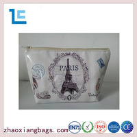 Zhaoxiang cheap customized pattern pu cosmetic bags wholesale