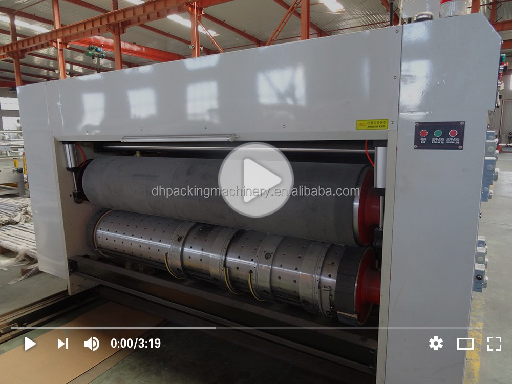 DoHeen Open&Close Vacuum Transfer Top Printer Type Automatic High Speed Printing Slotting And Die-cutting Machine