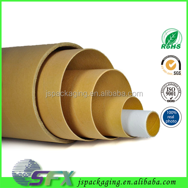 Wholesale OEM/ODM China supplier customized paper tube eco-friendly/recyclable kraft paper tube