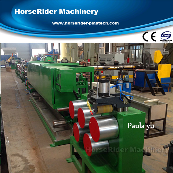 used pet strapping band production line/plastic strap making machine/pet strapping line