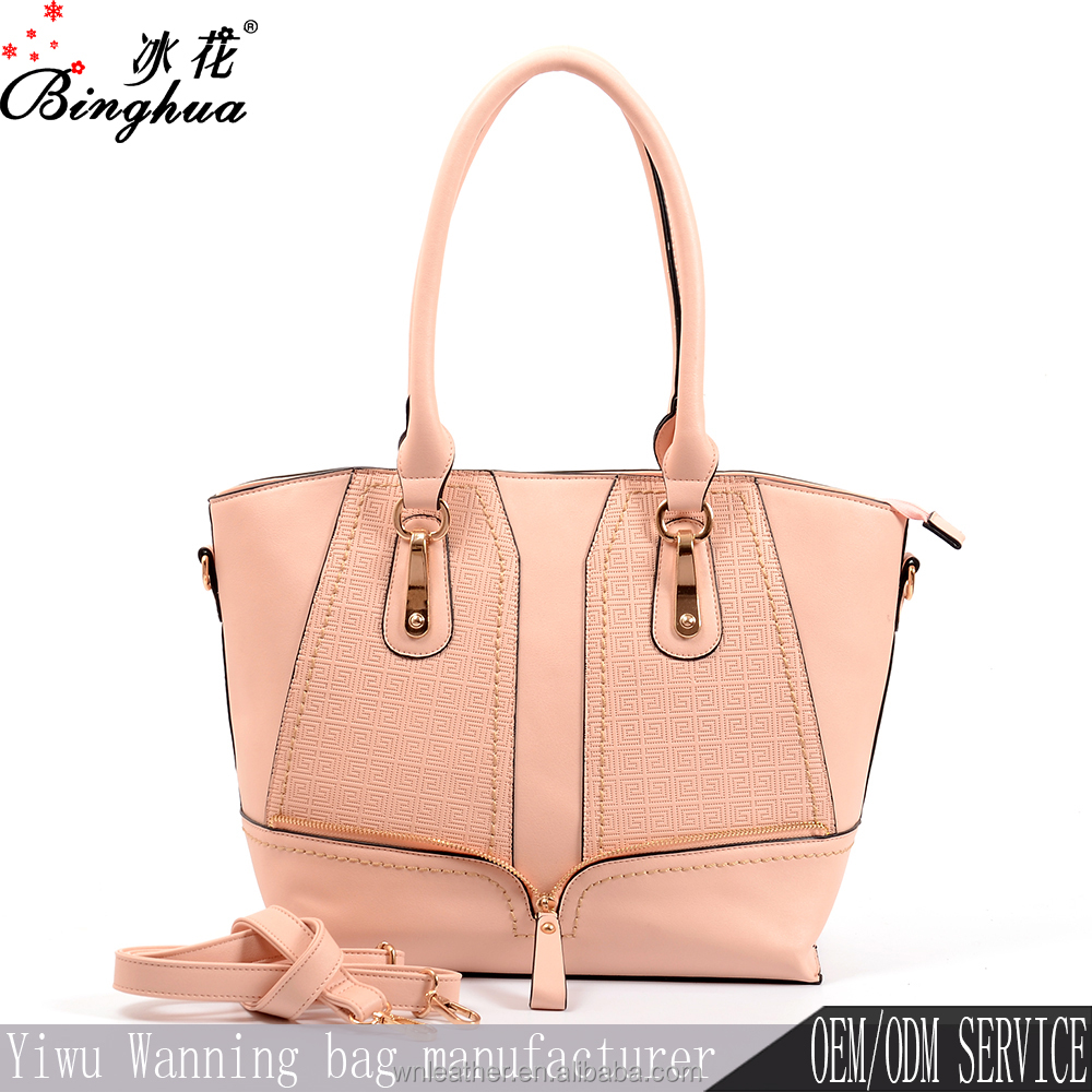 Yiwu factory price top selling fashion bags ladies designer handbags, famous brand leather bags