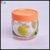 Wholesale Cheap Round Glass Storage Jar, Glass Honey Jar