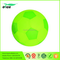 Cheap Toy green and yellow small plastic soccer ball