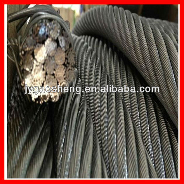 Non-Rotating galvanized Steel Wire Rope 18X7+IWS 10mm