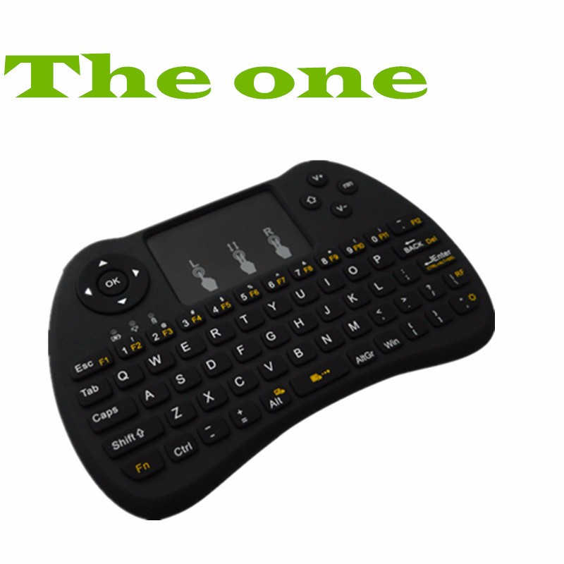 H9 With Backlit For Android TV Box New Smart Air Mouse Wireless keyboard and mouse Remote Control