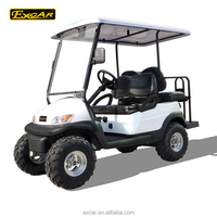 4 Seat dune offroad buggy mini club car electric utility car