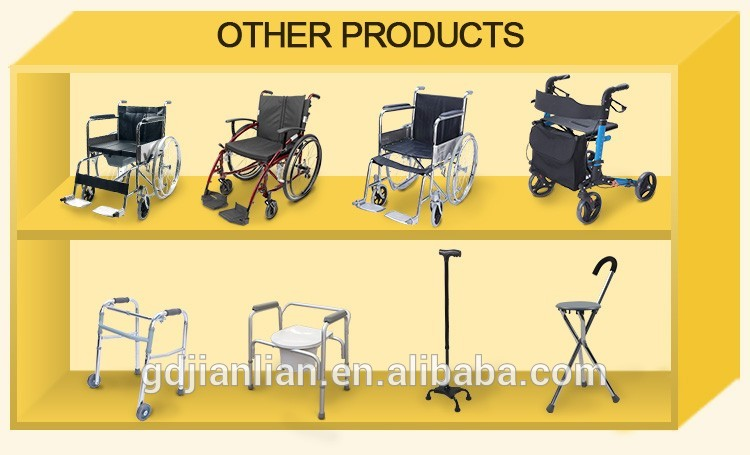 JL958LAQ aluminum folding lightweight manual wheelchair
