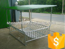 Galvanzied customized cattle horse goat hay sheep feeder