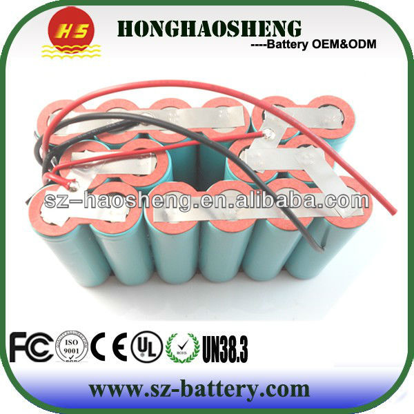 lithium ion 14.4v battery 8000mah li-ion battery,MSDS,UN38.3