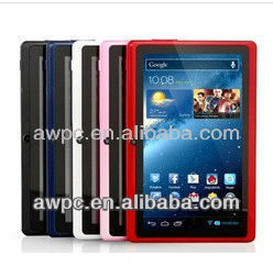 "Tablet PC 7"" AllWinner A13 Q88 android 4.0 1.2GHz 512M DDR Camera 4GB Capacitive Screen 7 inch tablet PC+Gif"