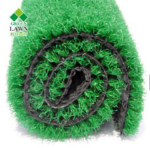 Imported pp artificial grass for garden carpet tile china manufacture