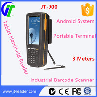 Android Portable Terminal/Reader Tablet Handheld Barcode Industrial Scanner with Touch Screen