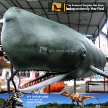 MY Dino-M10 Customized ocean animal resin whale