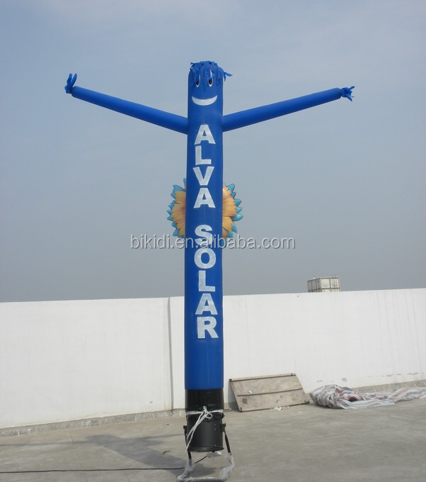 Cute single leg inflatable air waver, air dancer on sale K1008