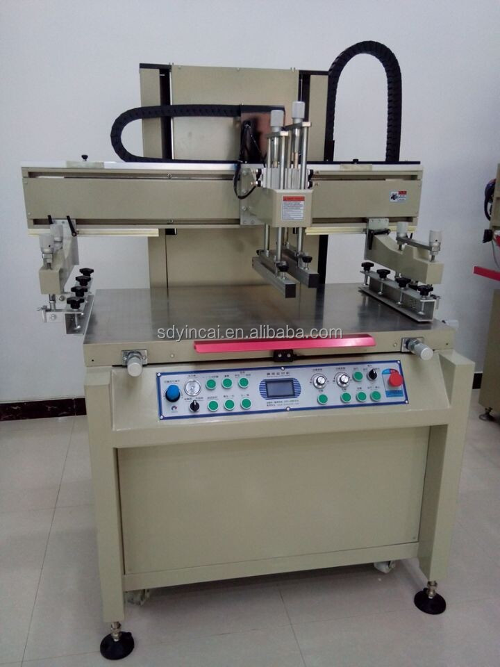 Temporary tattoo screen printing machine