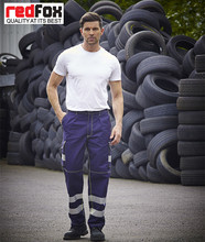 Custom Reflective Man Work Cargo Pants with Keen Pad