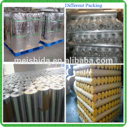 Heat Sealing Aluminum foil Woven Fabric coated PE