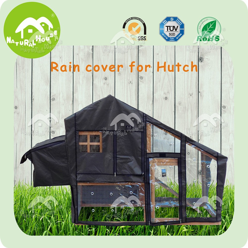 Water Resistant PVC Hutch Cover,Easy Clean Rabbit Cage Cover,Waterproof Outdoor Hutch Cover