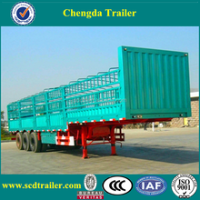 2017 3 Axles Fence Semi Trailer for sugar cane harvest