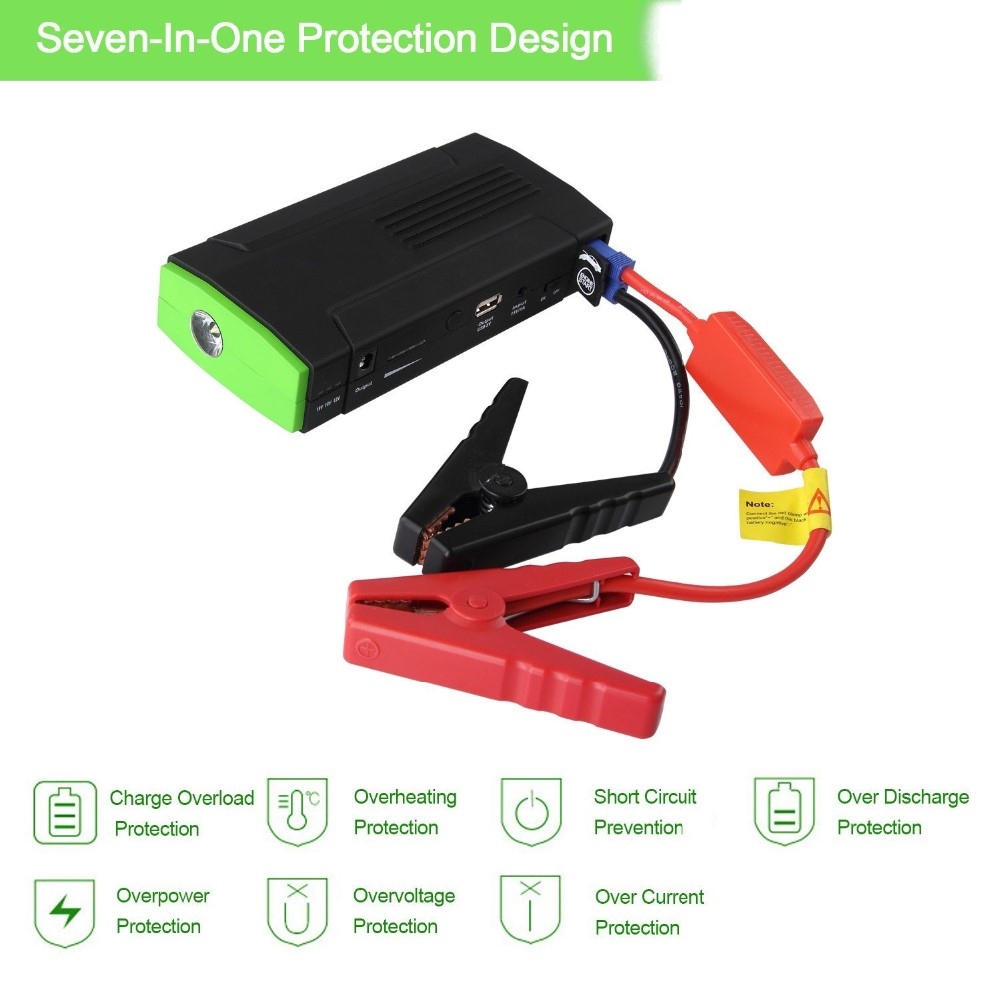 16800mah Portable Car Jump Starter Power Bank Emergency Auto Battery Booster Pack Vehicle Jump Starter car jump starter
